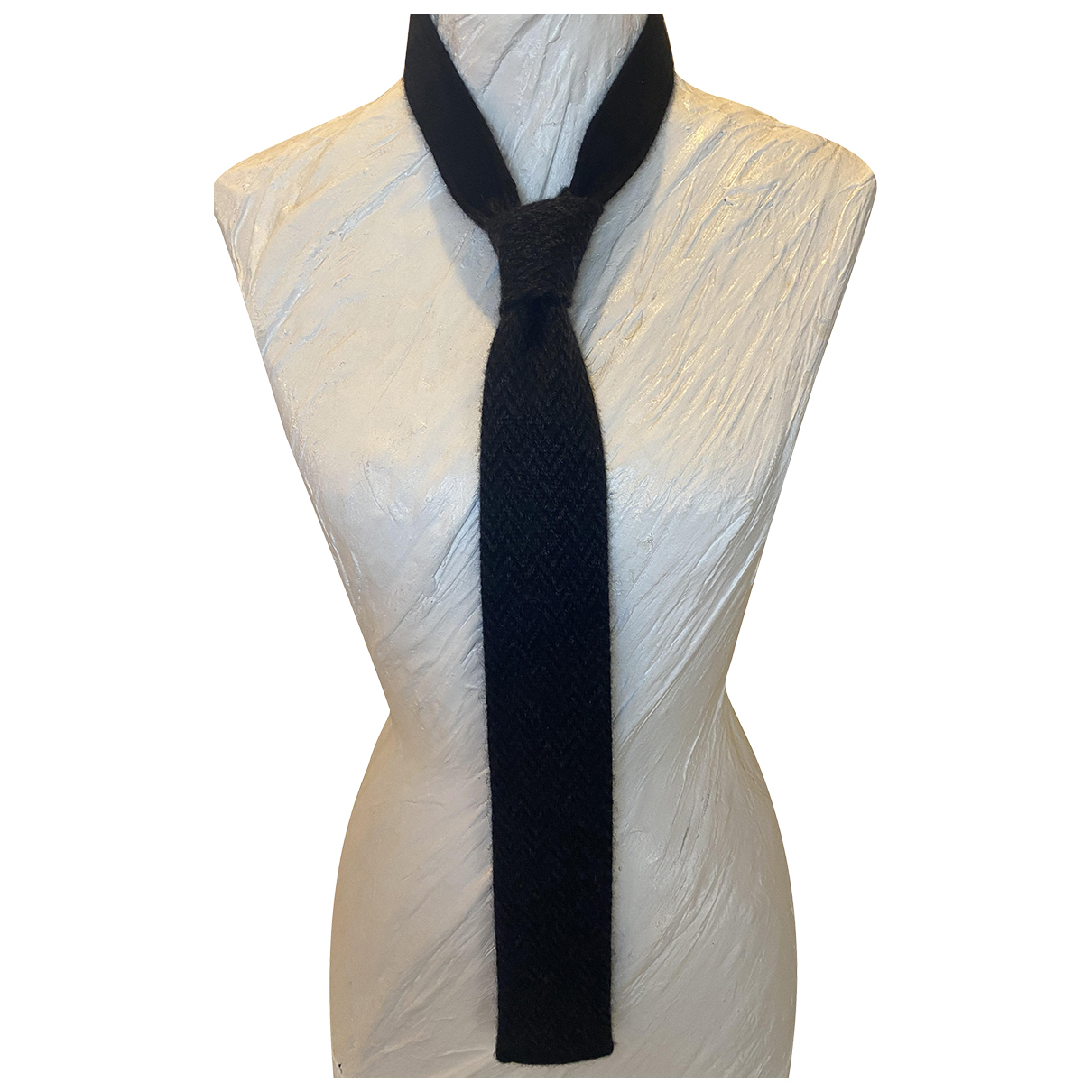 Ralph Lauren \N Krawatten in  Anthrazit Kaschmir