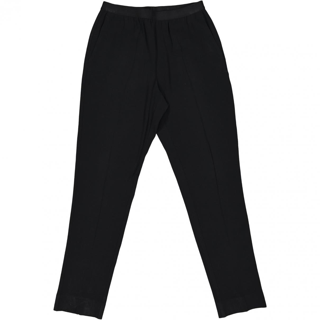 Maison Martin Margiela \N Black Trousers for Women 44 IT