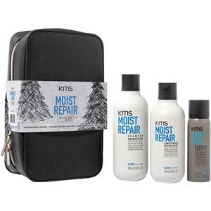KMS Cheveux Moistrepair Gift set Shampoo 300 ml + Conditioner 250 ml + Hairstay Working Hairspray 75 ml 1 Stk.