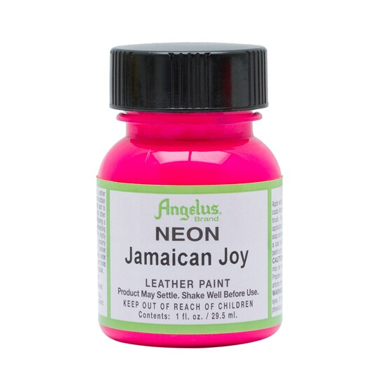 Angelus® Neon Leather Paint 1 oz By Angelus Shoe Polish | Michaels®