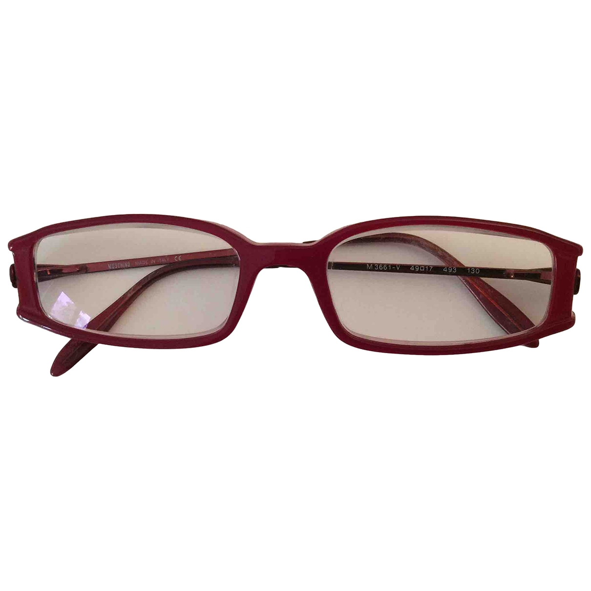 Moschino \N Red Sunglasses for Women \N