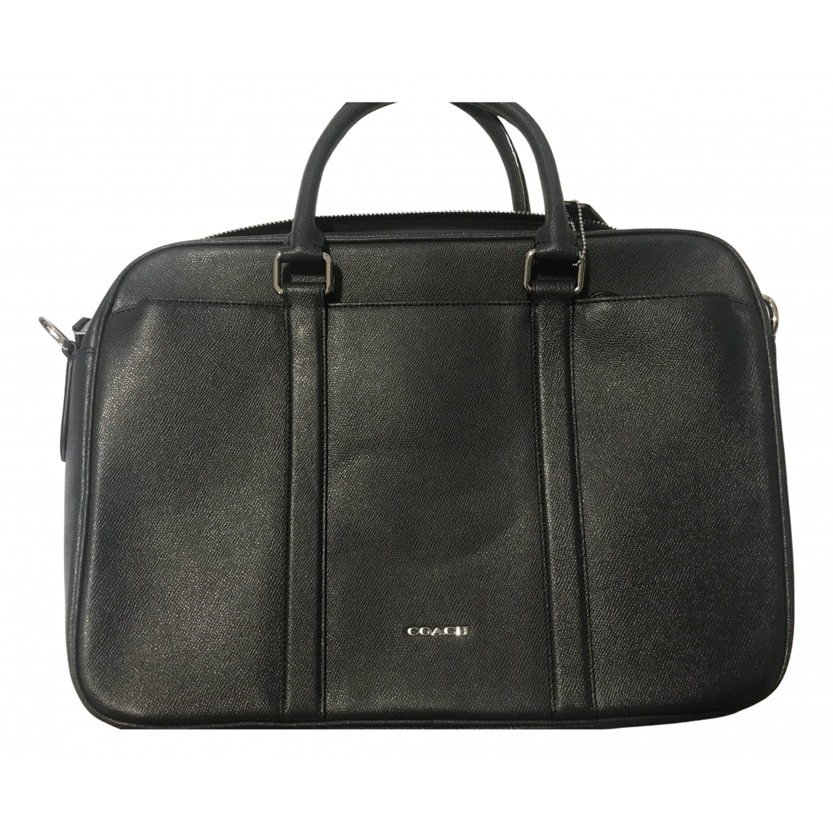 Coach N Navy Leather Small bag, wallet & cases for Men N
