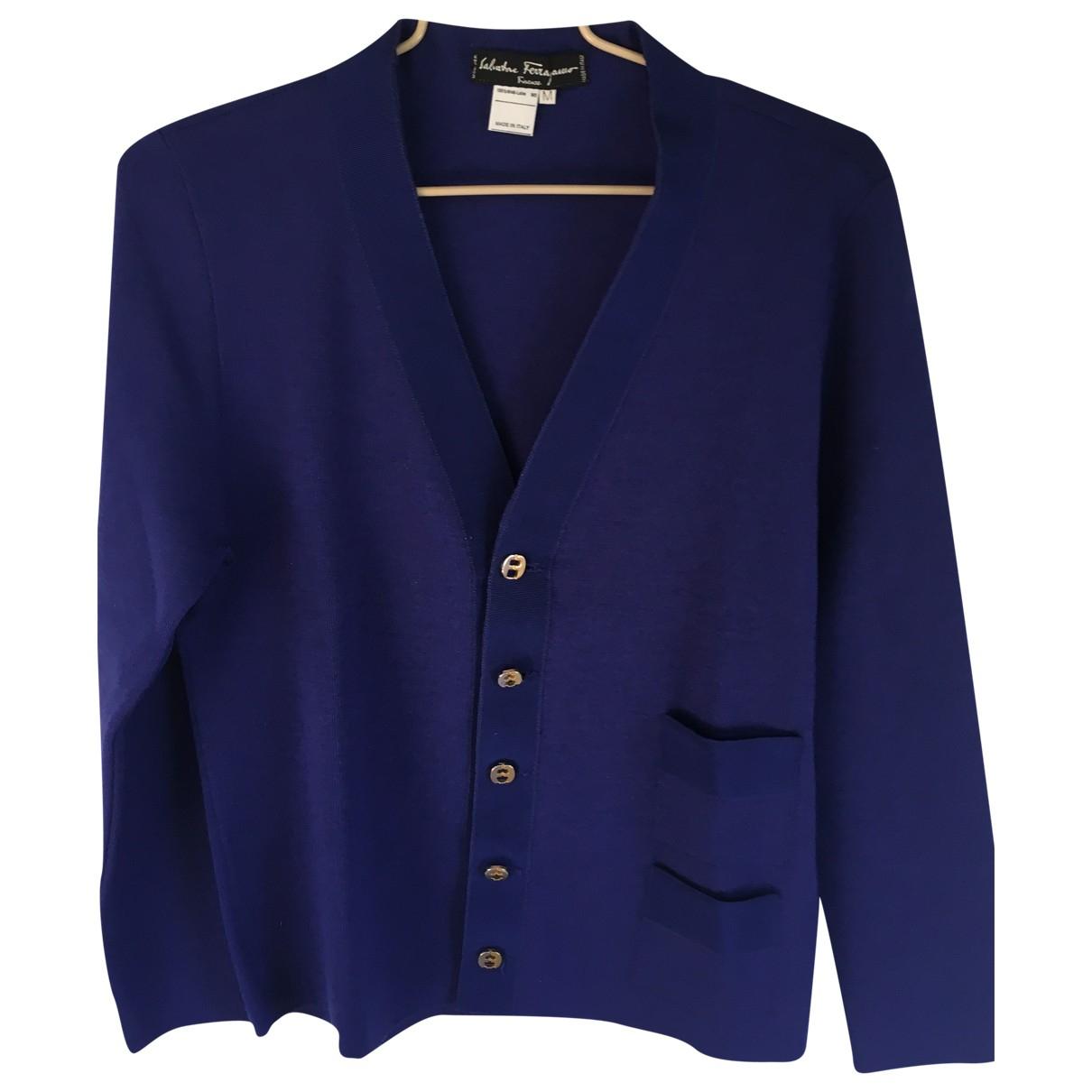 Salvatore Ferragamo \N Purple Wool Knitwear for Women M International