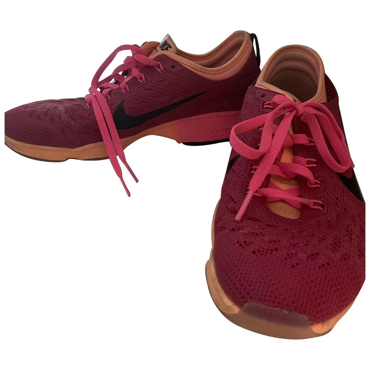 Nike Air Zoom Spiridon Sneakers in  Rosa Polyester