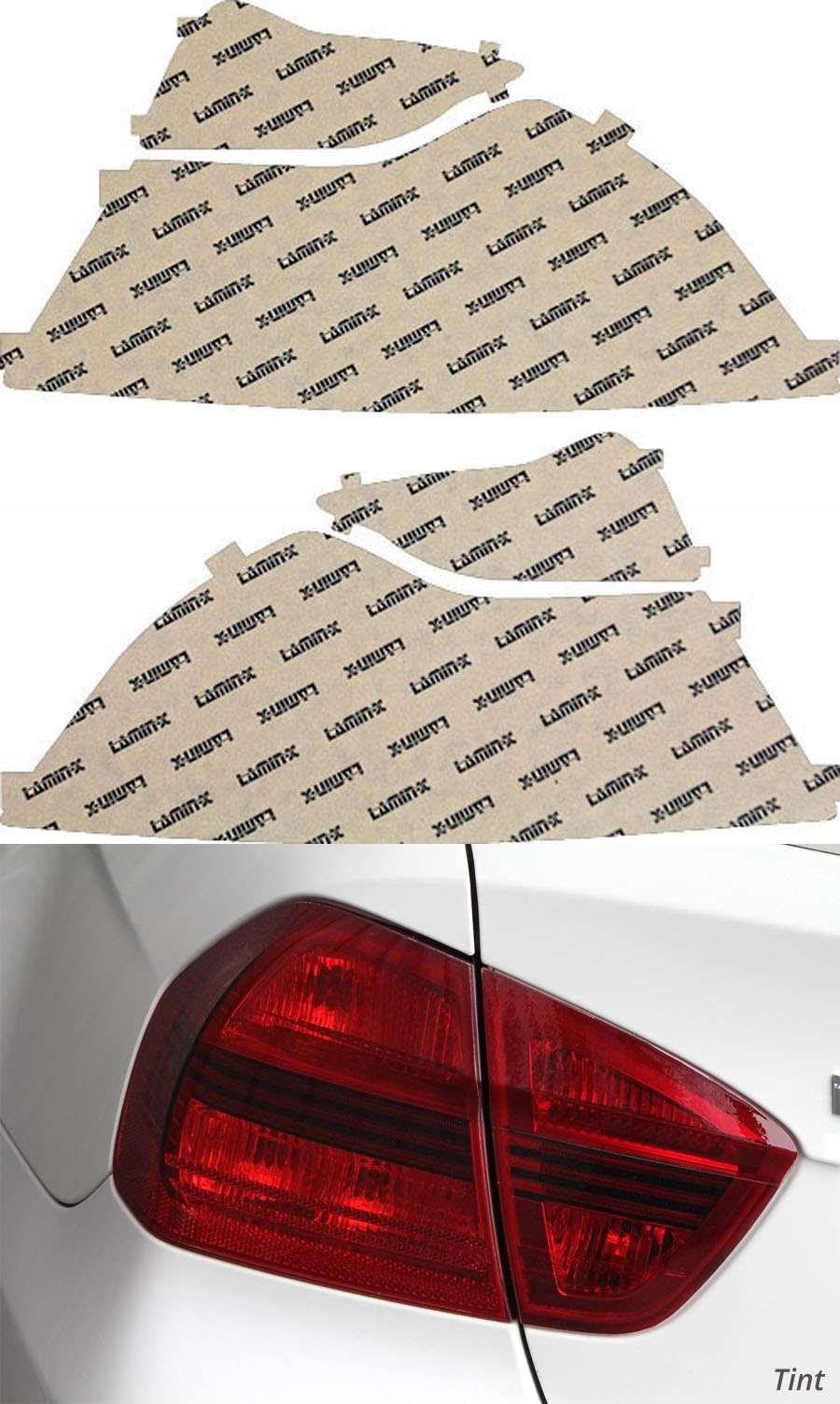 Volvo C70 11-13 Tint Tail Light Covers Lamin-X V218T