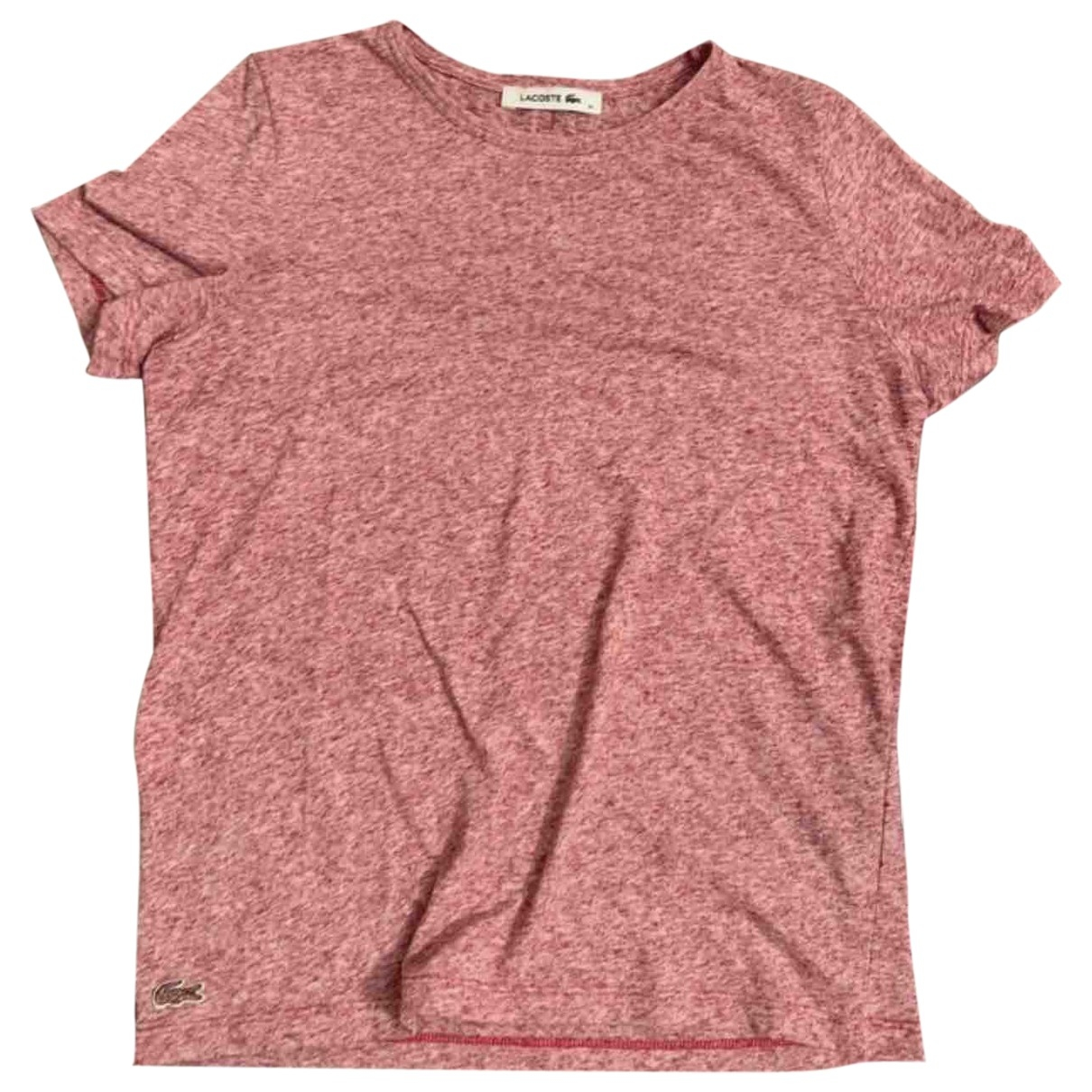 Lacoste \N Pink Cotton  top for Women XS International