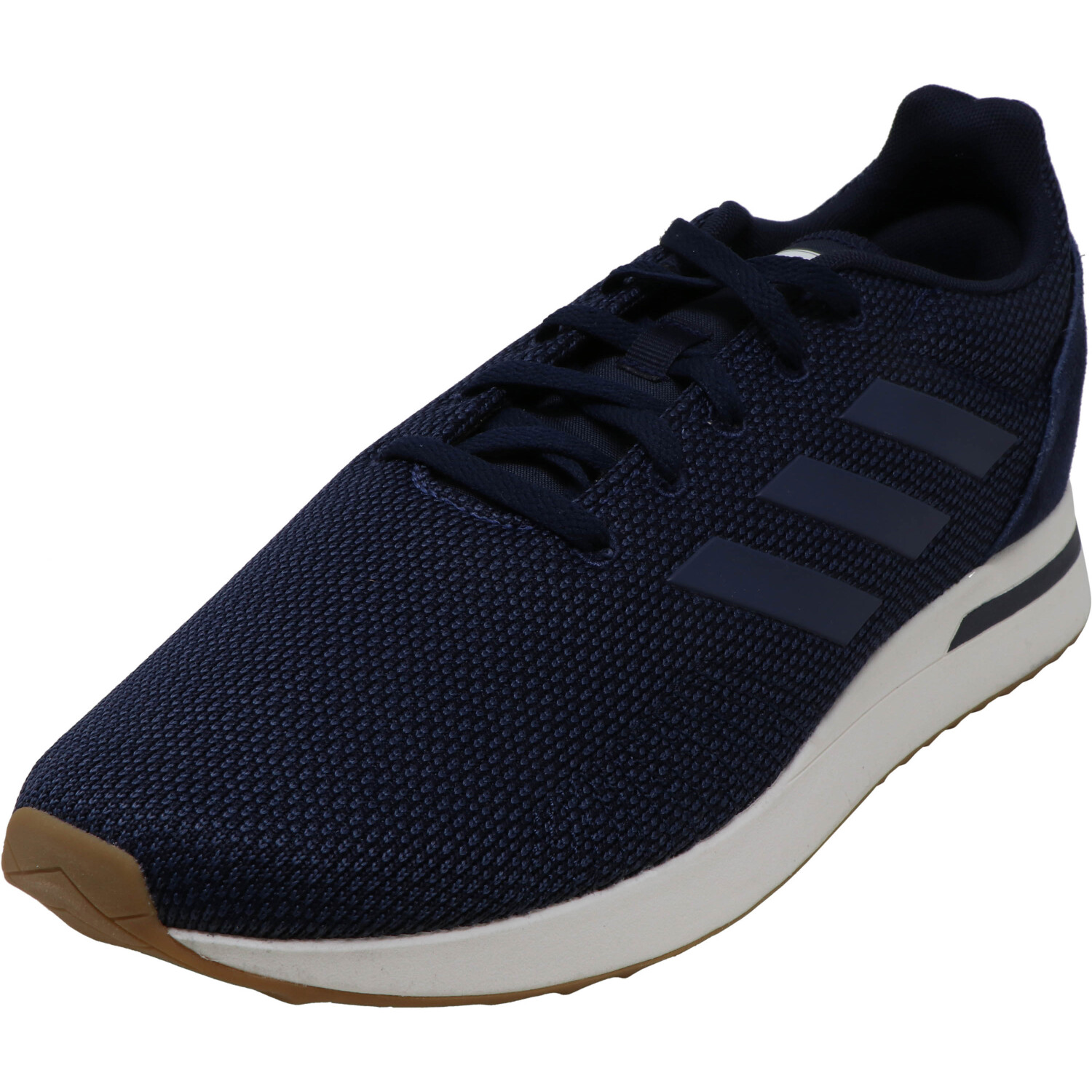 Adidas Men's Run70S Legend Ink / Trace Blue Cloud White Low Top Mesh Running - 11.5M