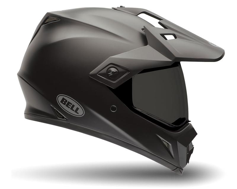 Bell Racing 7061441 MX-9 Adventure Solid Matte Black Helmet 62-63   2XL
