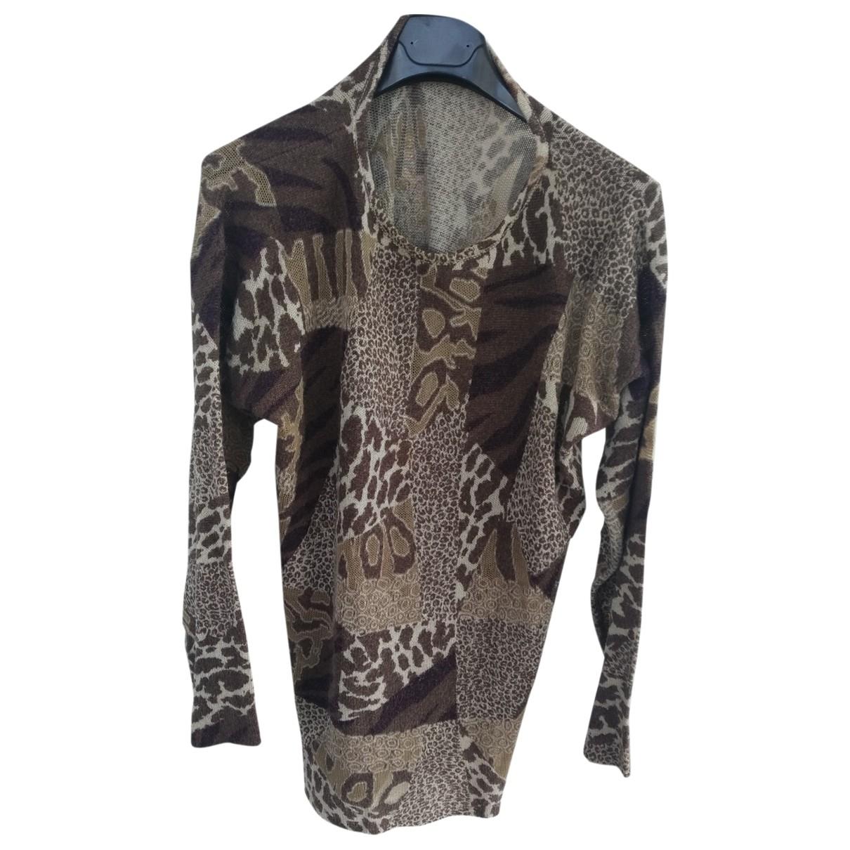 Krizia \N Brown Wool dress for Women 44 IT