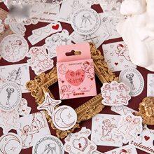 46 piezas pegatina con angel
