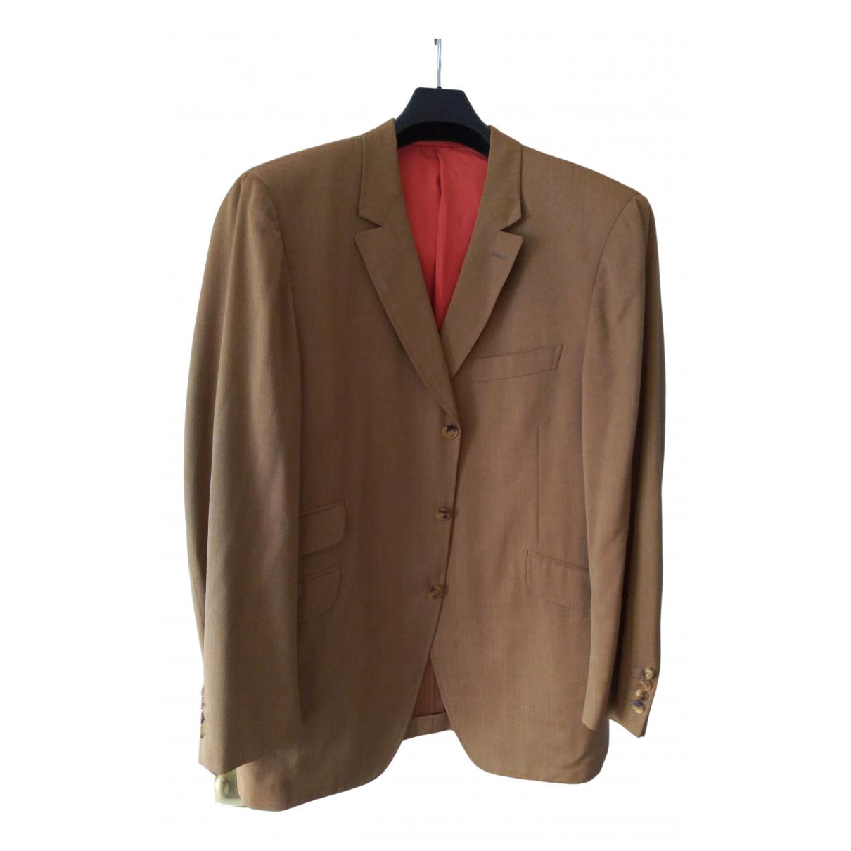 Arnys - Costumes   pour homme en laine - marron