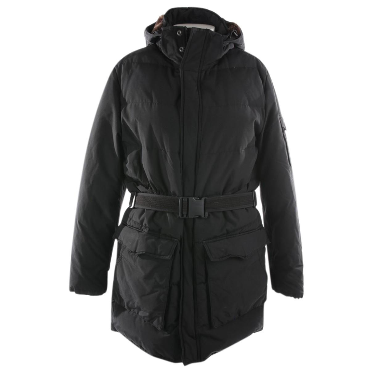 Woolrich - Veste   pour femme en coton - noir