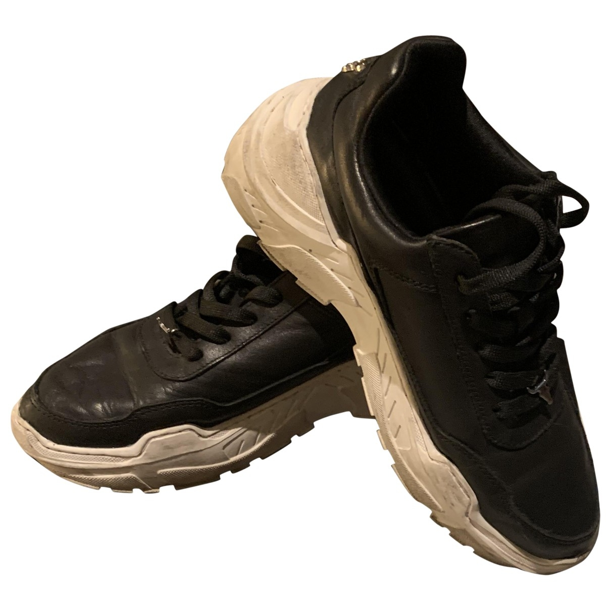 Windsor Smith \N Sneakers in  Schwarz Leder
