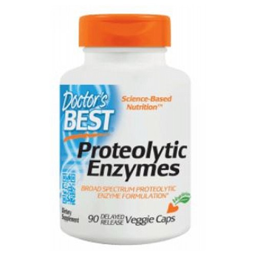 Proteolytic Enzymes 90 Veggie Caps by Doctors Best