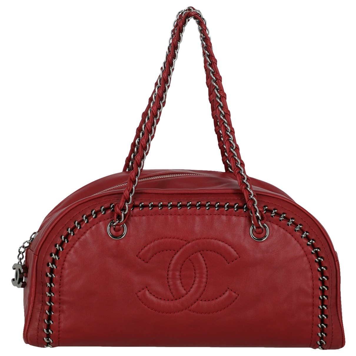 Chanel \N Red Leather handbag for Women \N