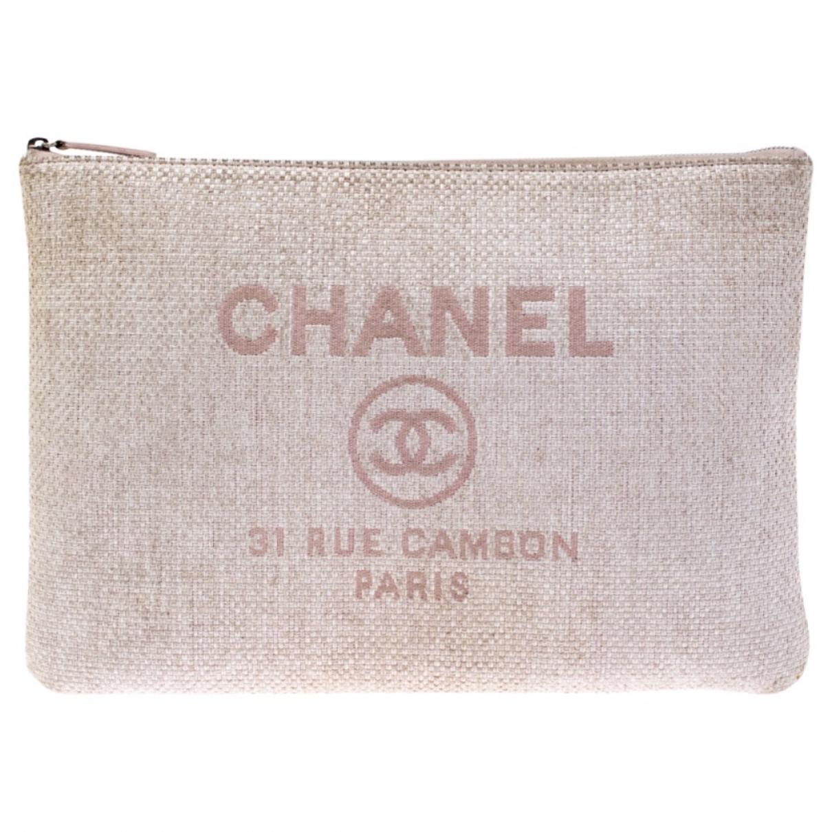 Pochette Deauville Tweed Chanel