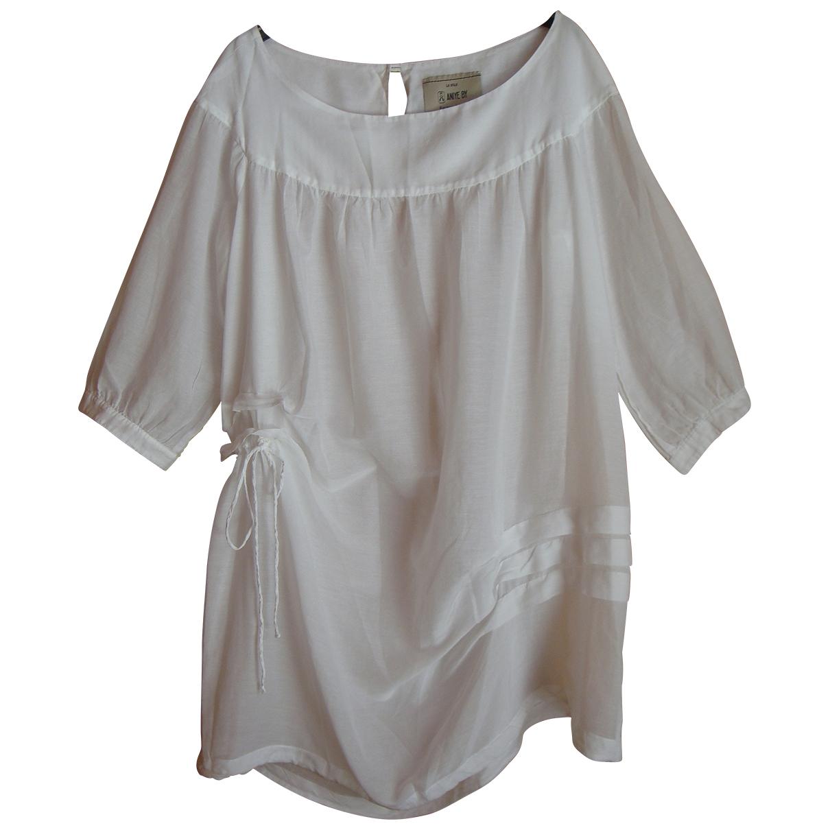 Aniye By \N White Cotton dress for Women One Size International
