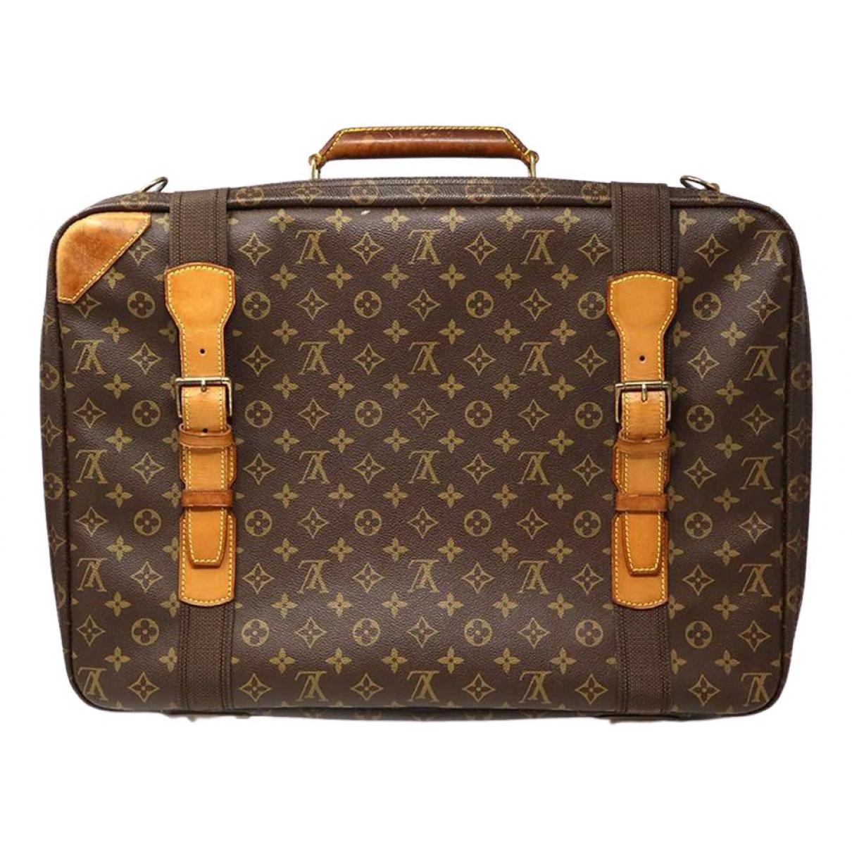 Louis Vuitton Satellite Brown Cloth Travel bag for Women \N