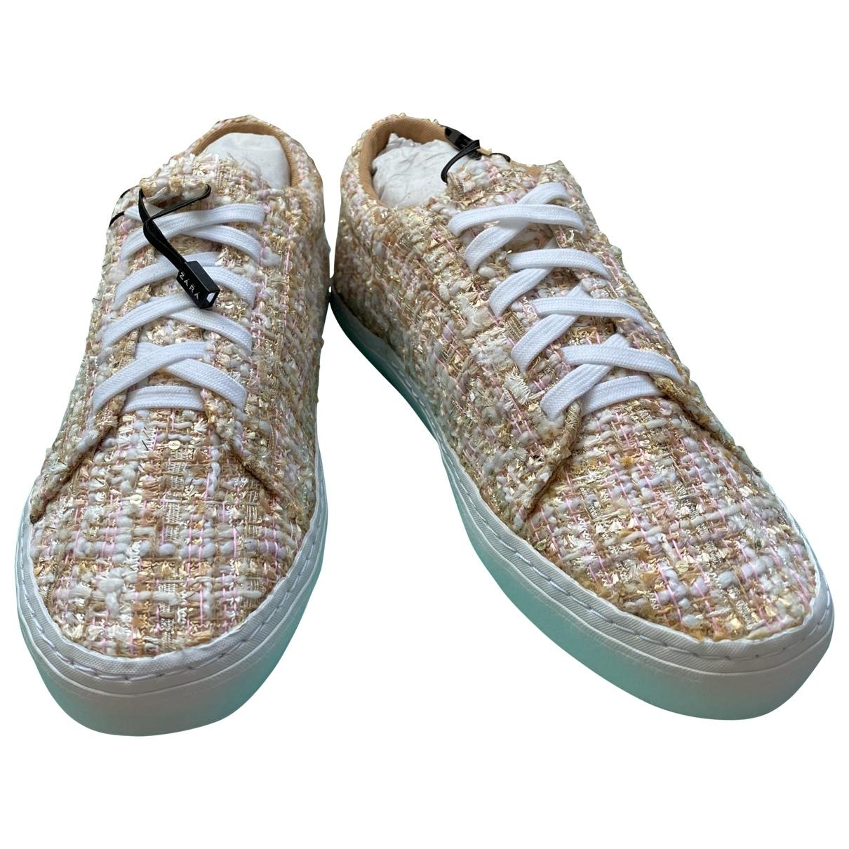 Zara \N Sneakers in  Bunt Tweed