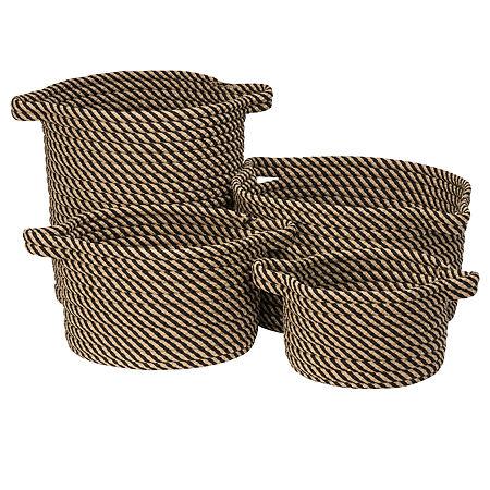 Colonial Mills Eden Textured Twist Basket, One Size , Black