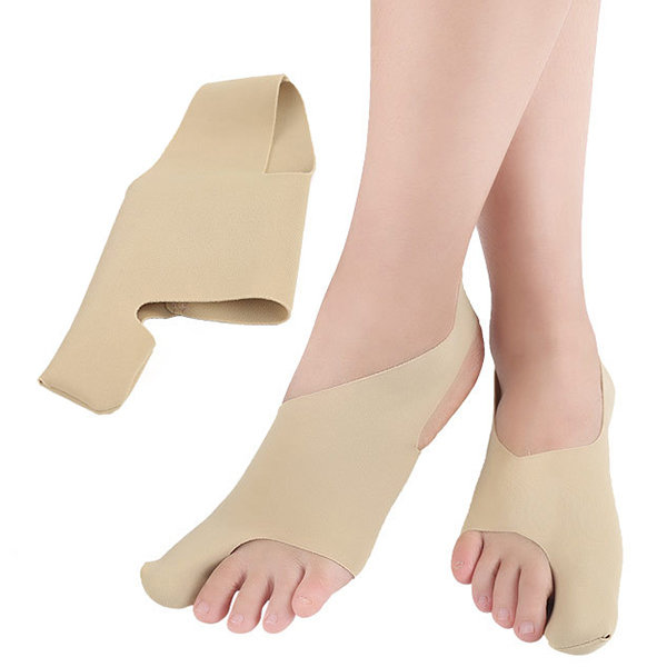 1 Pair Toe Corrector Anti-Squat Sprain Foot Protector Hallux Valgus Bunion Corrector Foot Care