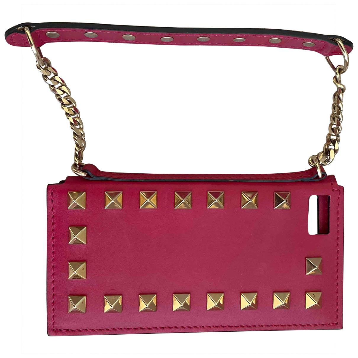 Valentino Garavani - Accessoires   pour lifestyle en cuir - rose