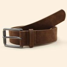 Men Simple Buckle Belt