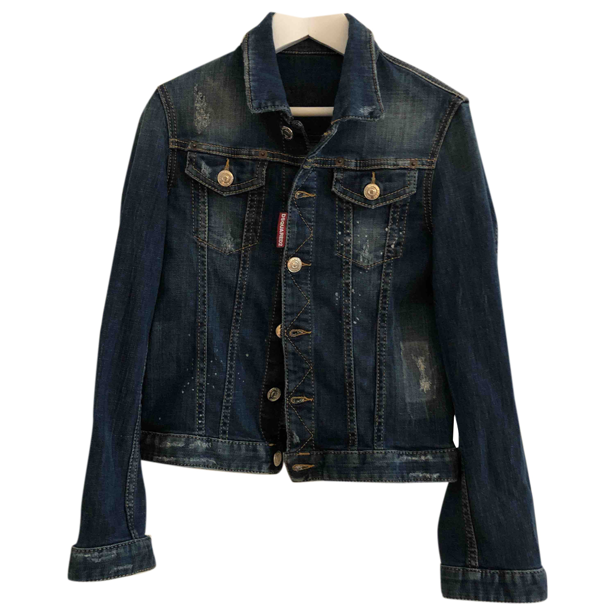 Dsquared2 N Blue Denim - Jeans jacket & coat for Kids 10 years - up to 142cm FR