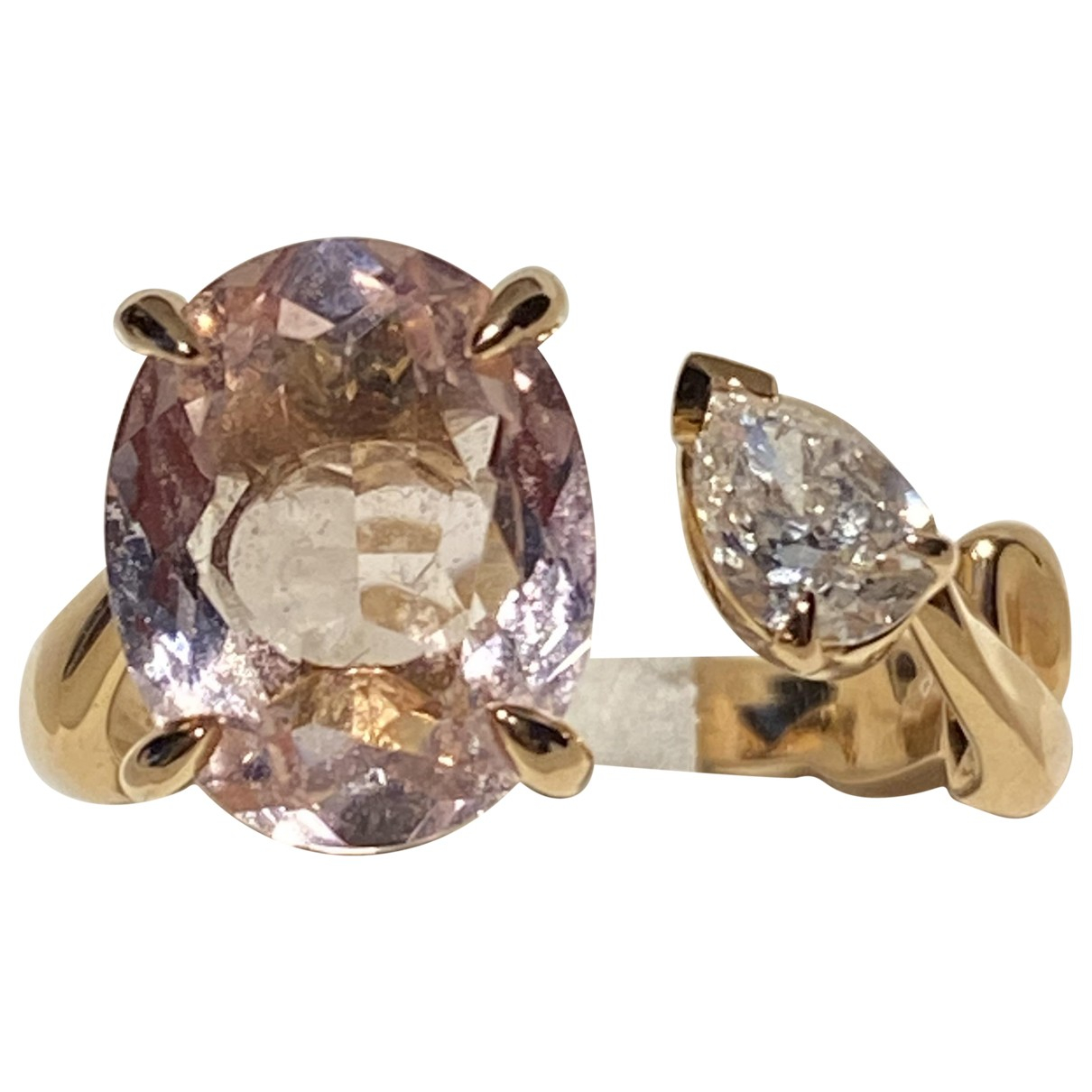 Dior - Bague   pour femme en or rose - rose
