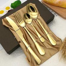 1pc Fork & 2pcs Spoon & 1pc Knife