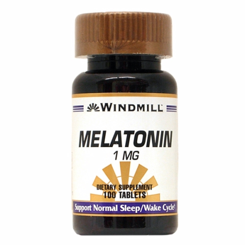 Melatonin 100 Tabs by Windmill Health Products