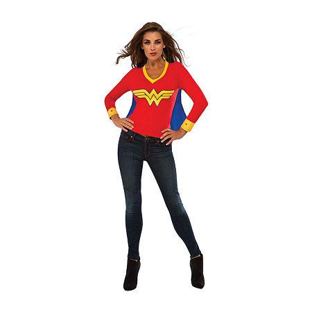 Wonder Woman Dress Up Costume, Large , Multiple Colors