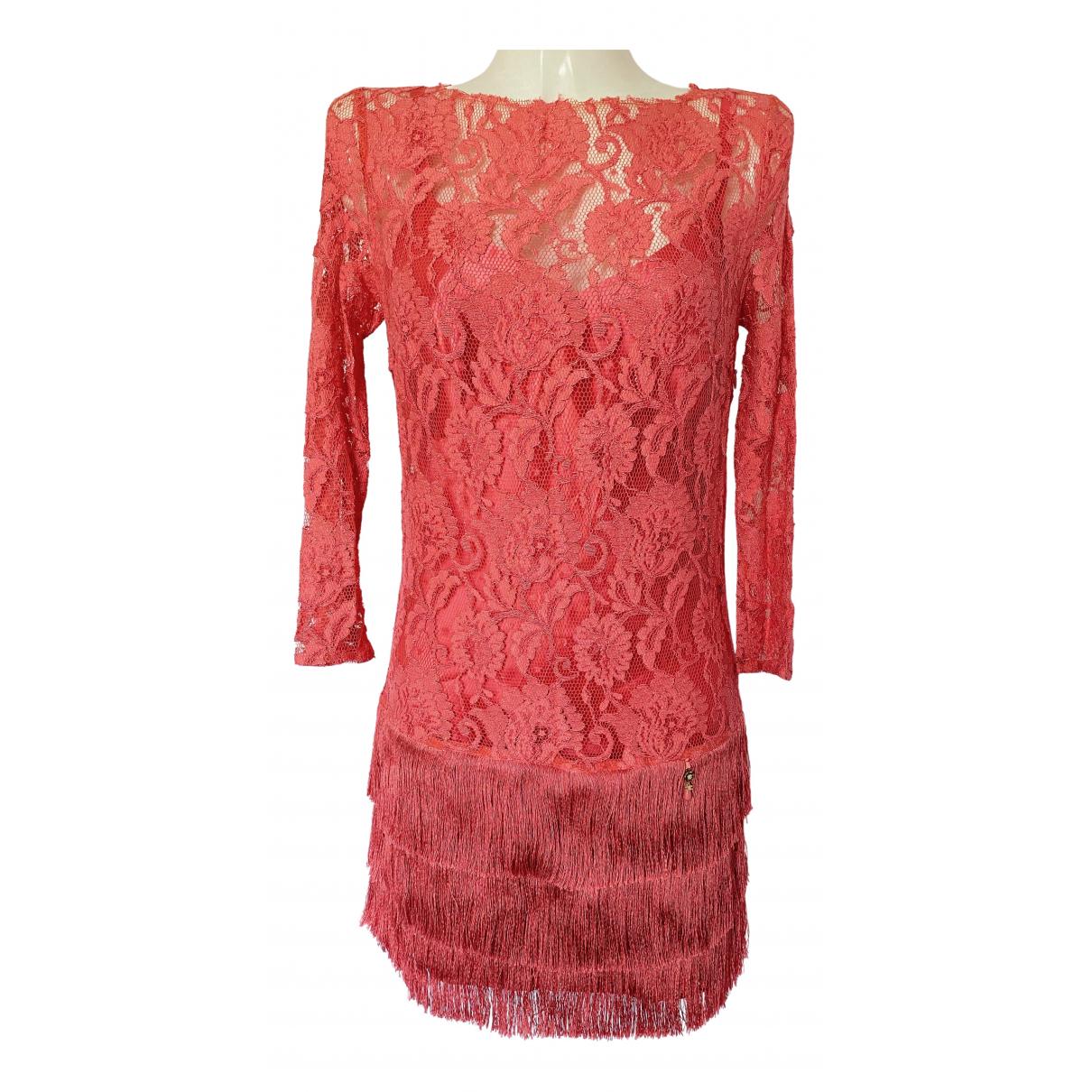 Elisabetta Franchi \N Kleid in  Rosa Polyester