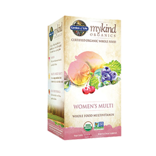 mykind Organics Womens Multi 120 Tabs by Garden of Life