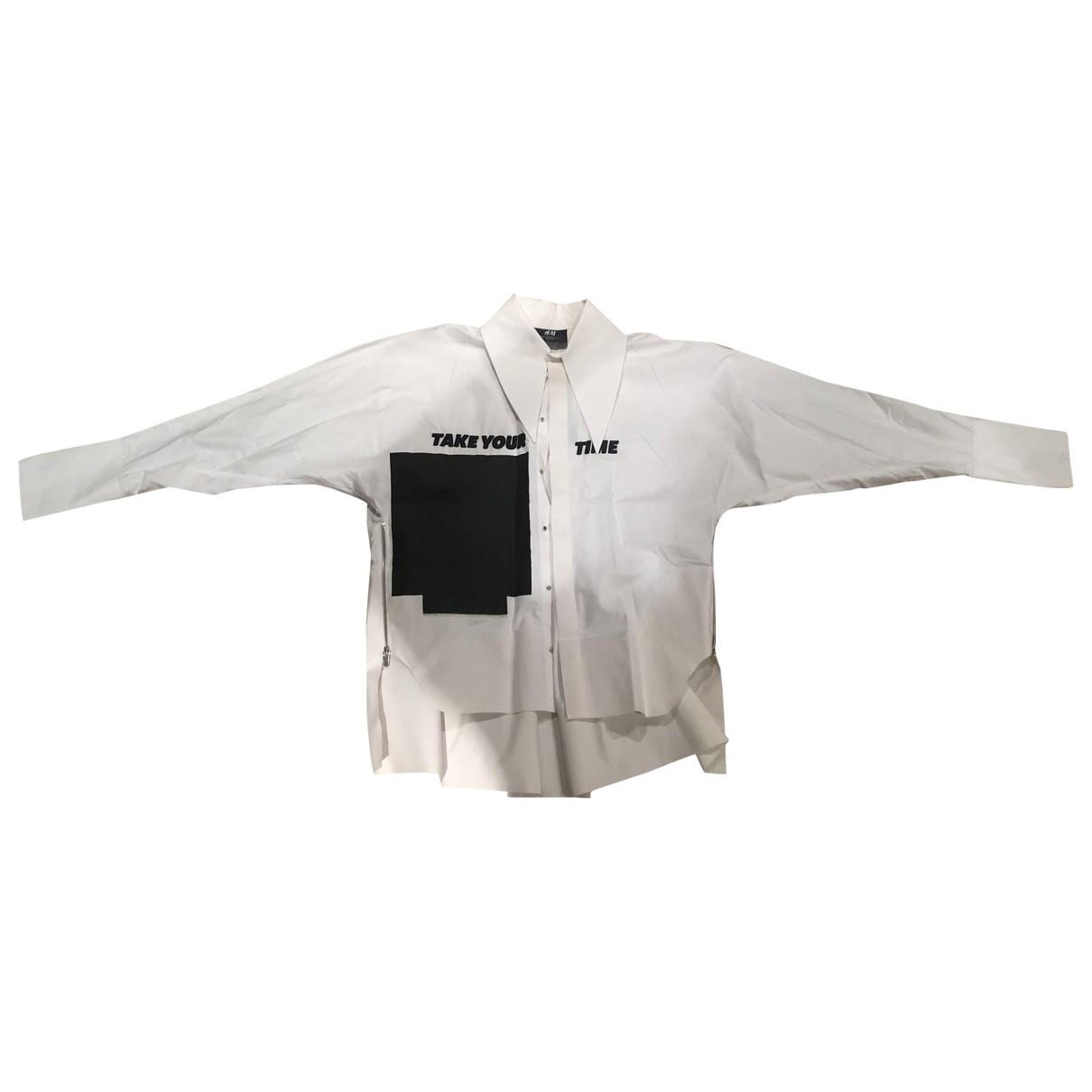 H&m Studio \N Hemden in  Weiss Baumwolle