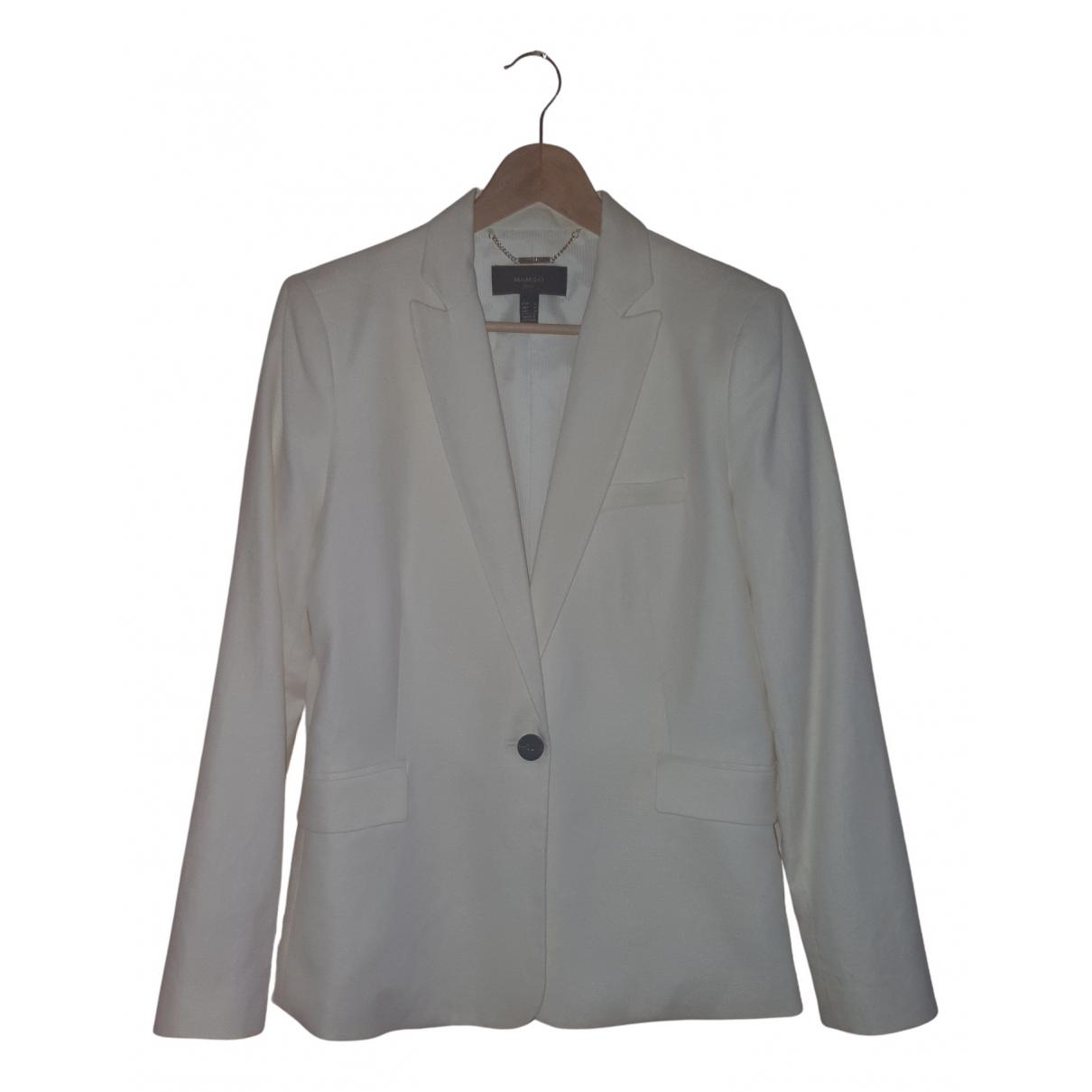 Mango N Beige Cotton jacket for Women 42 FR