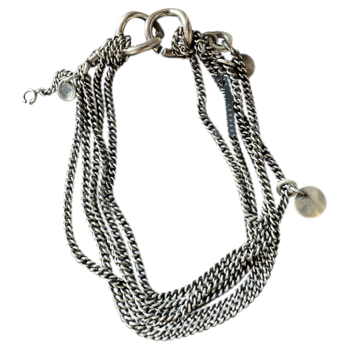 Ann Demeulemeester N Silver Silver necklace for Women N