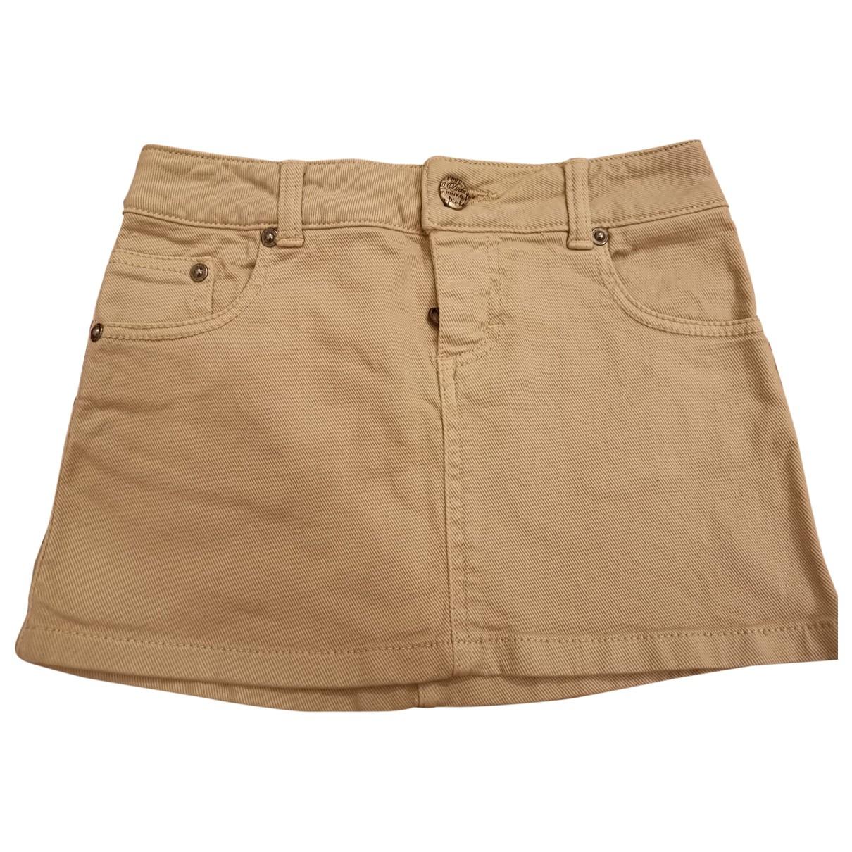 Pinko \N Rocke in  Beige Denim - Jeans
