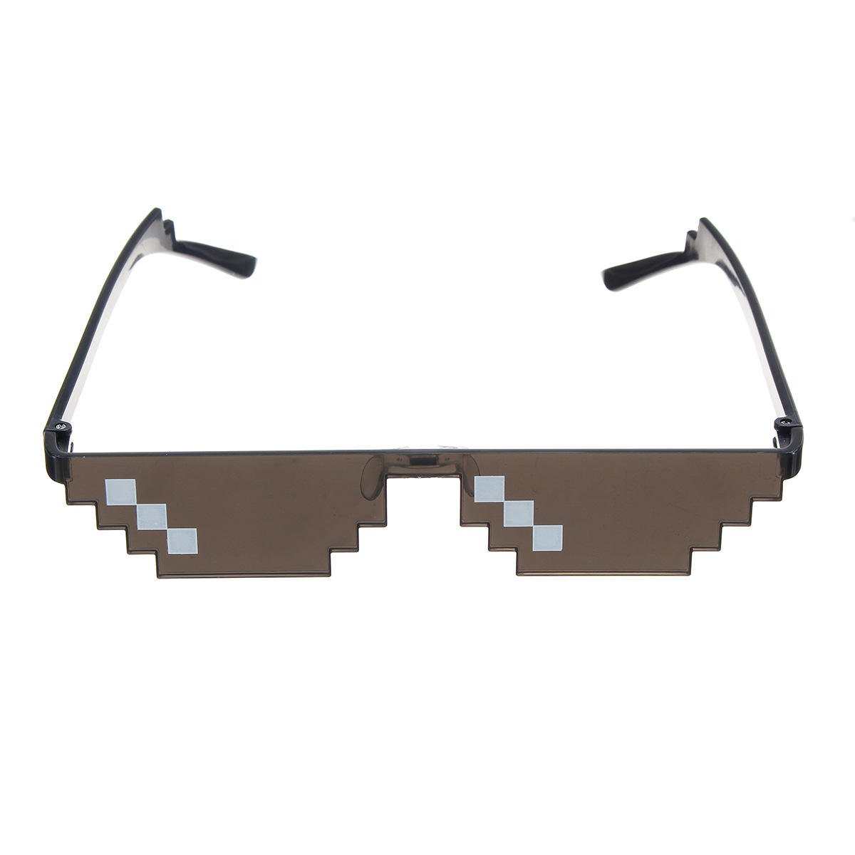 Single Row Pixels Glasses Photography Tools Cool Pose Goggles