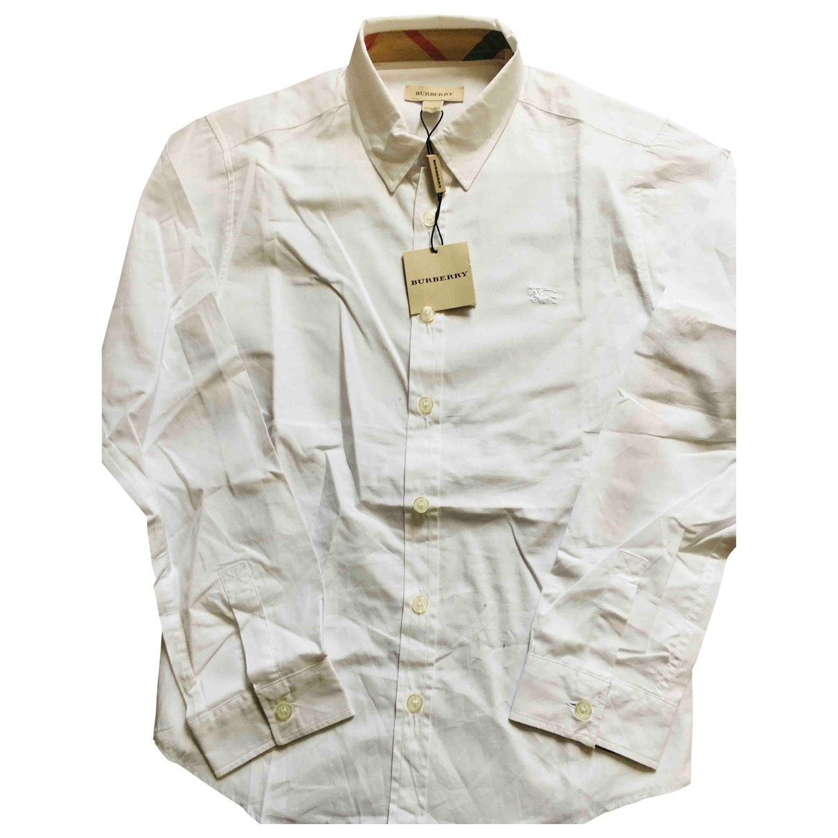 Burberry \N White Cotton  top for Kids 10 years - up to 142cm FR