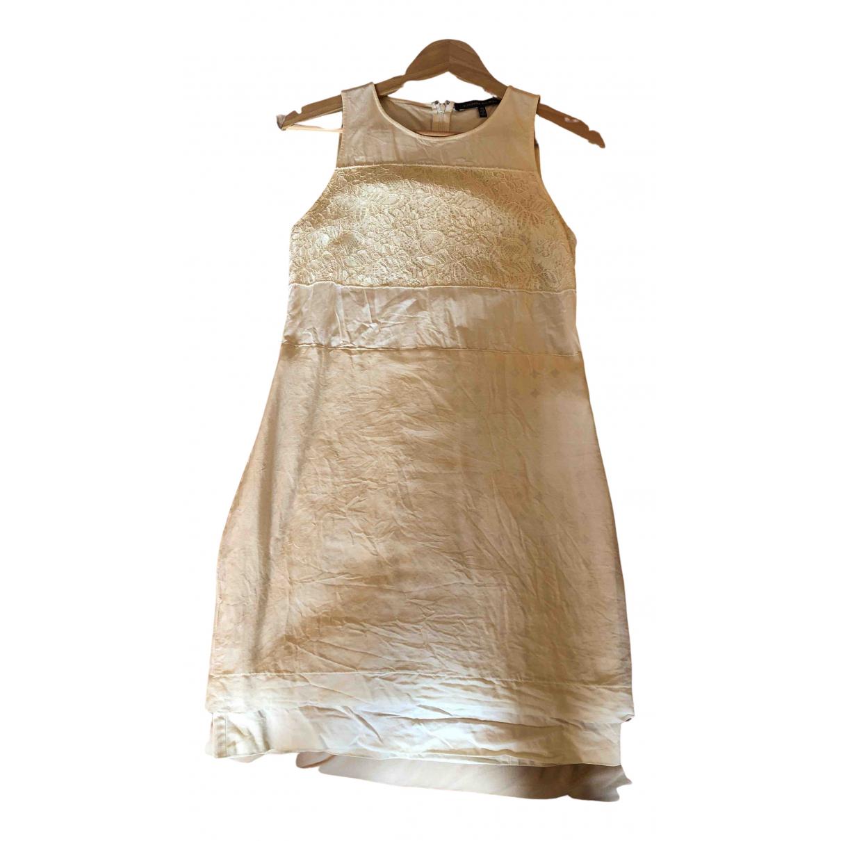 Alessandro Dellacqua N White Cotton dress for Women 40 IT