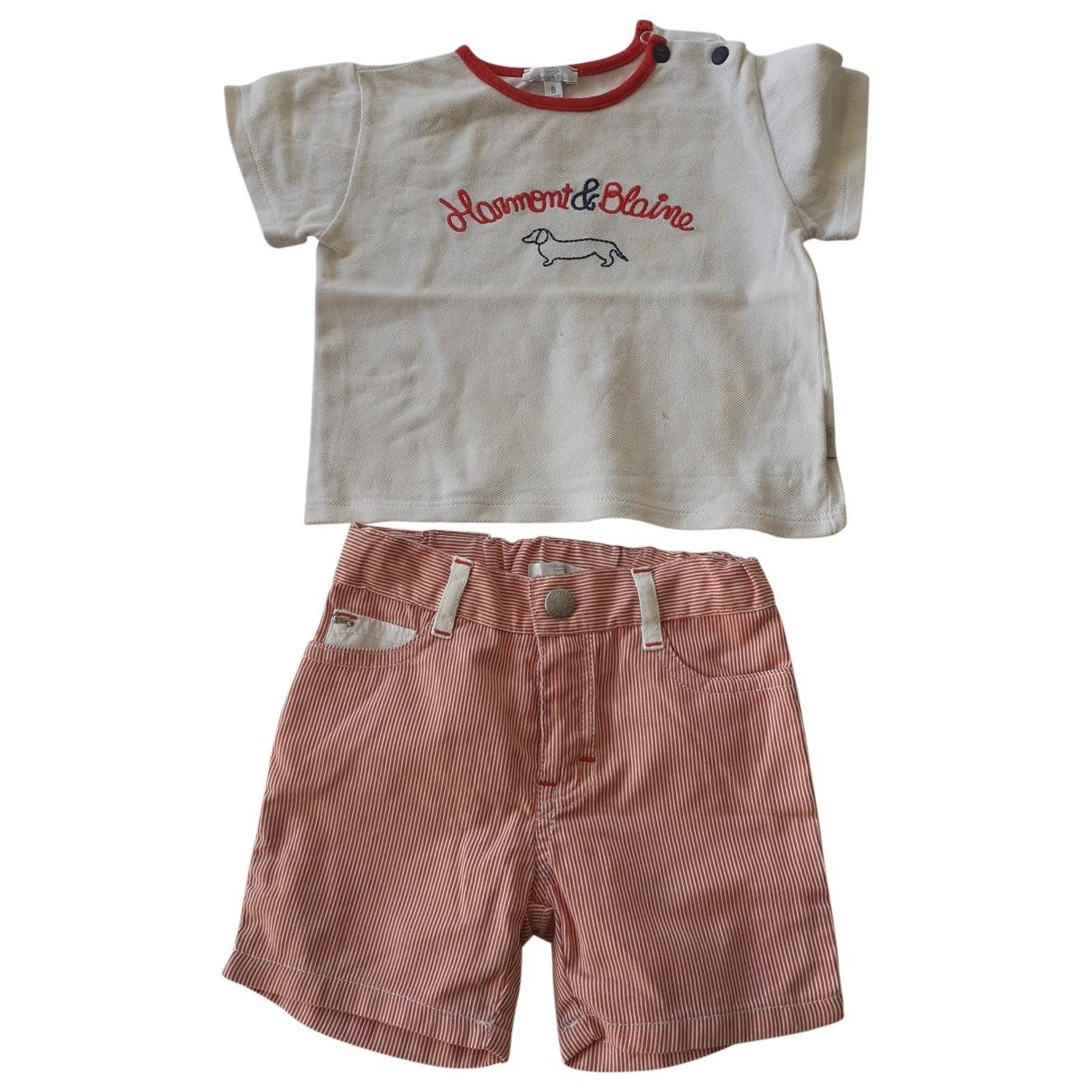 - Les ensembles   pour enfant en coton - rouge