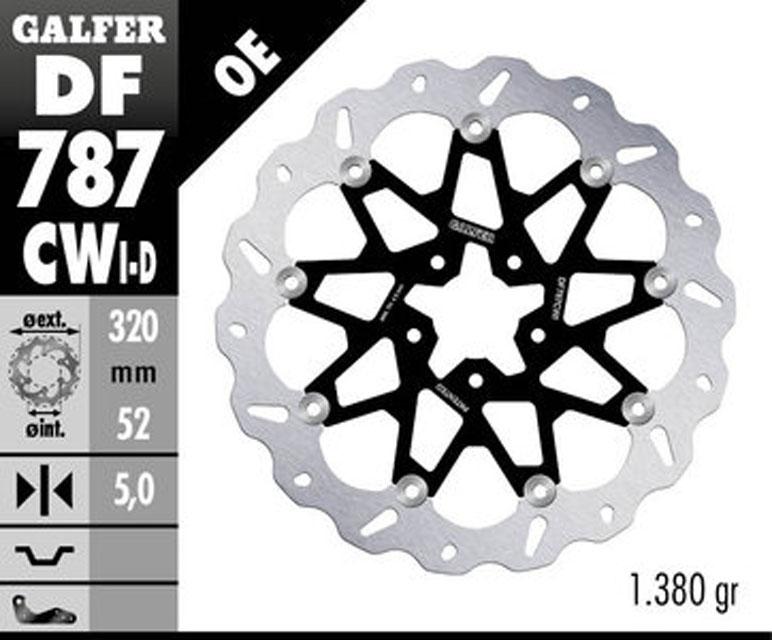 Galfer Front Brake Disc KTM 690 DUKE