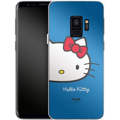 Samsung Galaxy S9 Silikon Handyhuelle - Hello Kitty Closeup von Hello Kitty