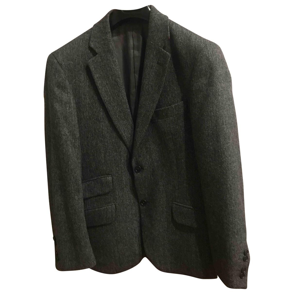 Hackett London - Vestes.Blousons   pour homme en laine - gris
