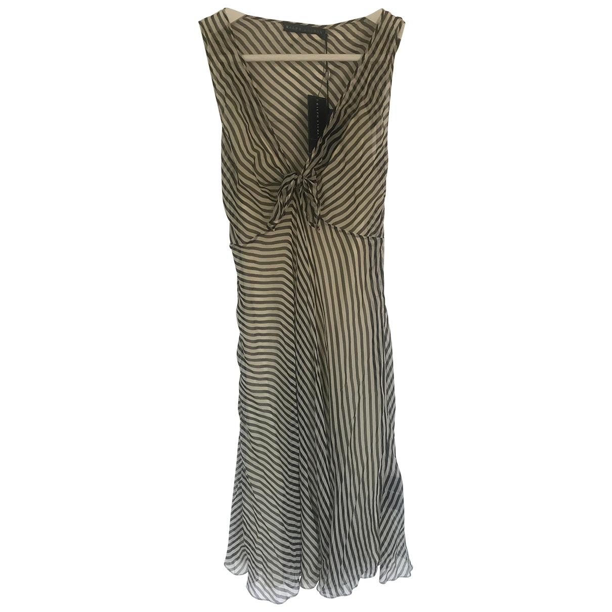 Ralph Lauren - Robe   pour femme en soie - multicolore