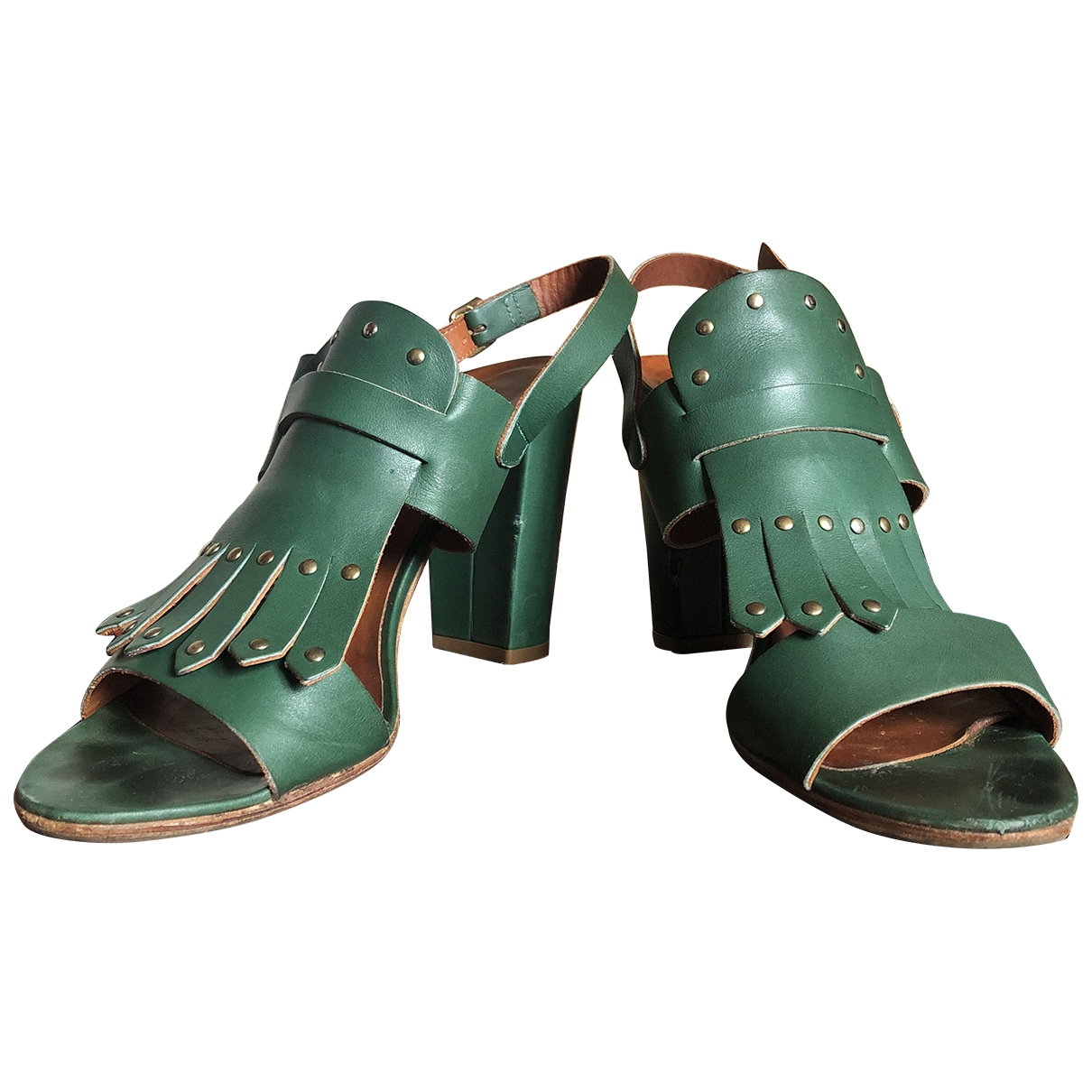 Sandalias de Cuero Michel Vivien