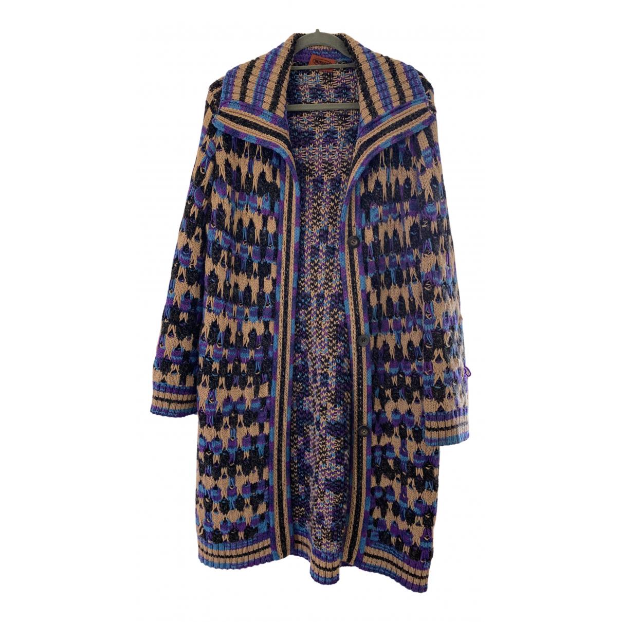 Missoni - Manteau   pour femme en laine - violet