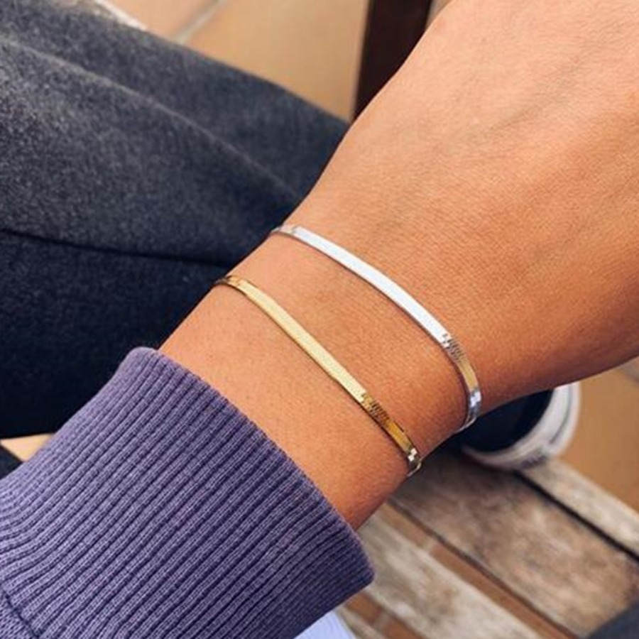 LW lovely Casual Basic Gold Bracelet