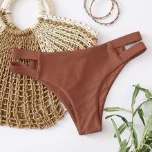 Cut-out Side Bikini Panty